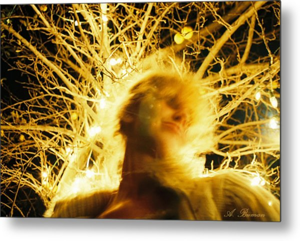 Metal Print featuring the photograph C'hi Energy  by Angelique Bowman