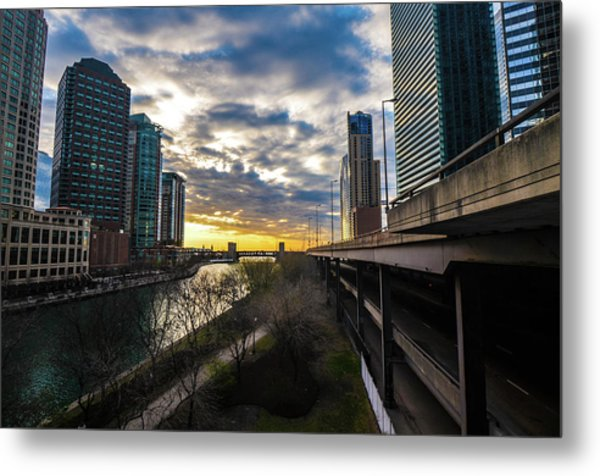 Chi Sunrise 2 Metal Print