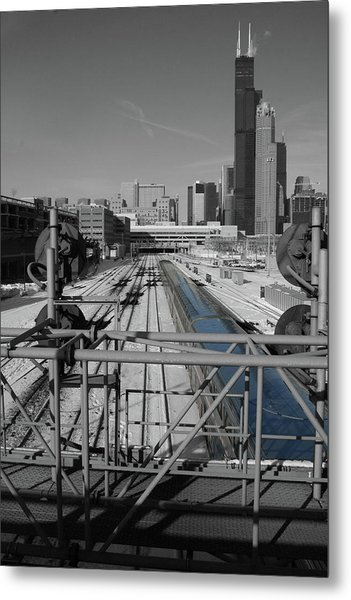 Chicago Amtrak Metal Print