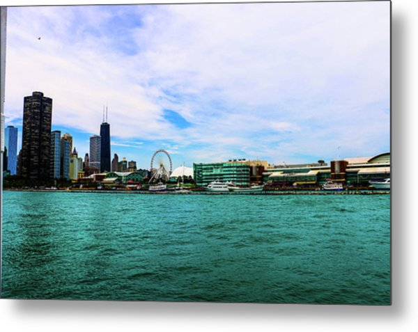 Chicago Blue Metal Print