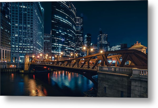 Chicago Blue II Metal Print