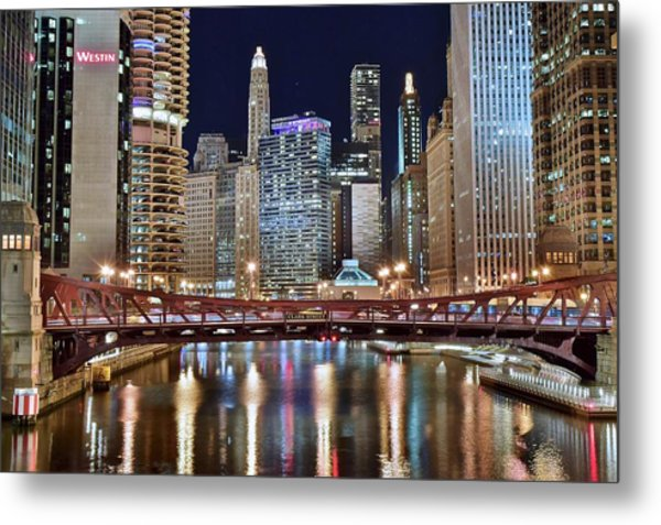 Chicago Full City View Metal Print