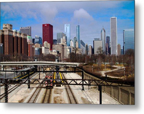 Chicago Metro Metal Print