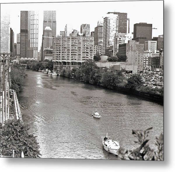 Chicago River Metal Print by Eric Belford