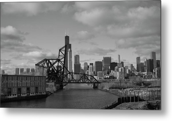 Chicago Skyline 2 Metal Print