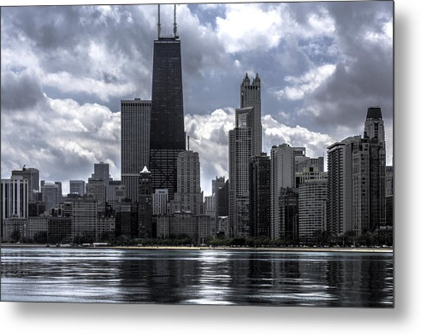 Chicago Skyline Ver3 Metal Print