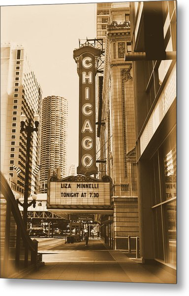 Chicago Theater - 3 Metal Print