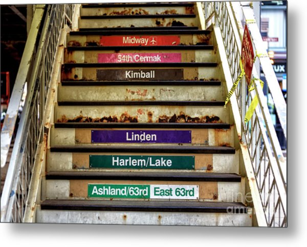 Chicagoland Destinations Metal Print