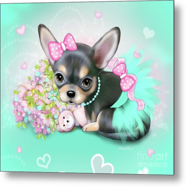 Chichi Sweetie Metal Print