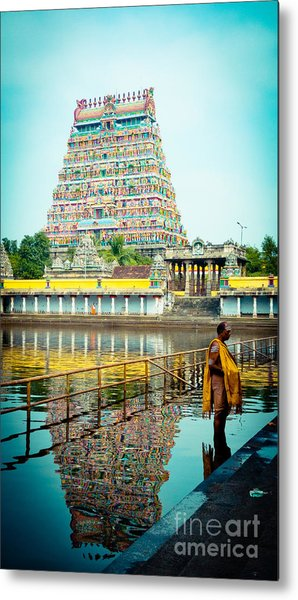 Chidambaram Temple Lord Shiva India Metal Print