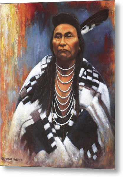 Chief Joseph Metal Print