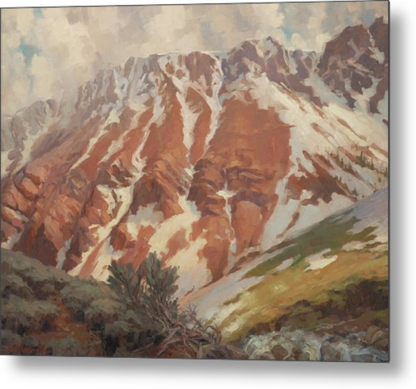 Chief Joseph Mountain Metal Print