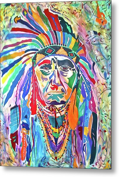 Chief Joseph Of The Nez Perce Metal Print