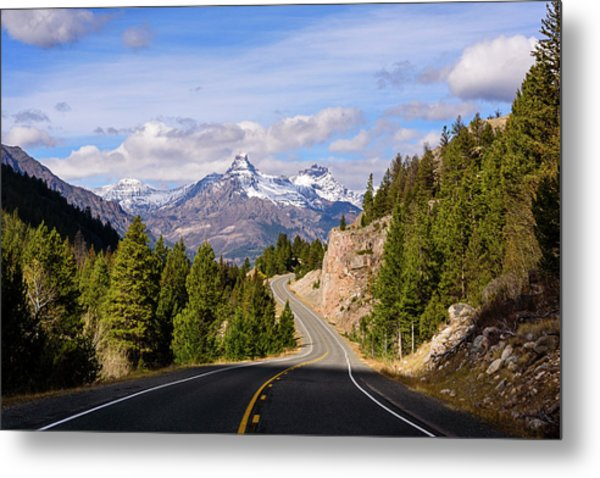 Metal Print featuring the photograph Chief Joseph Scenic Highway by John Gilbert