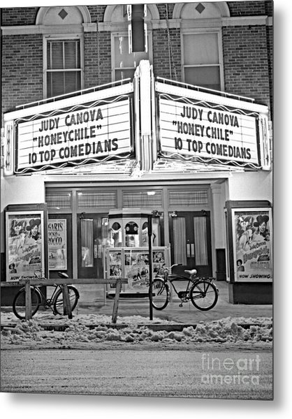 Chief Theater Metal Print