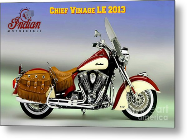 Chief Vintage Le 2013 Metal Print