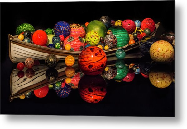 Chihuly Reflection Metal Print