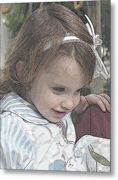 Children Series Metal Print by Ginger Geftakys