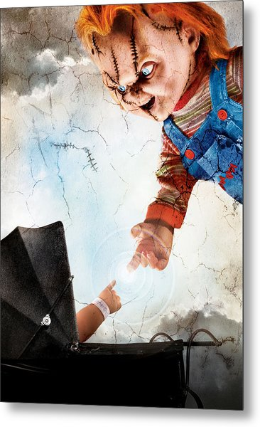 Childs Play 5 Seed Of Chucky 2004 Metal Print