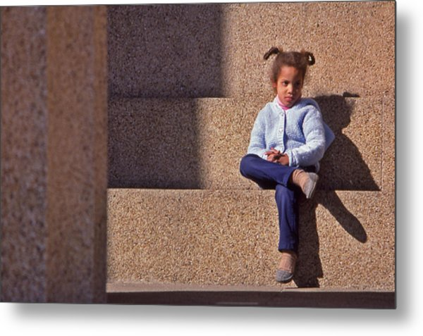 Child's Thought Metal Print by Randy Muir