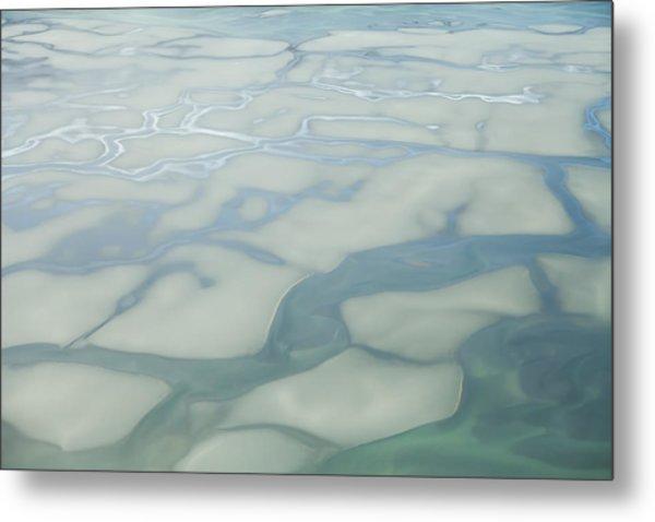 Chilkat River Patterns Metal Print