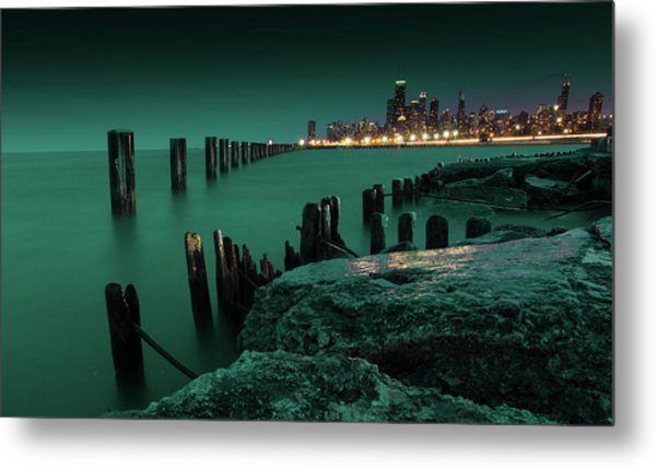 Chilly Chicago 2 Metal Print