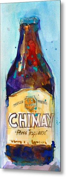 Chimay Triple - Authentic Trappist Beer Belgian Beer Metal Print