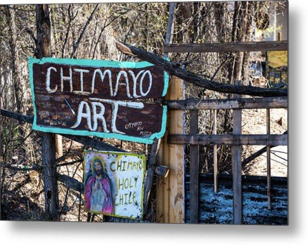 Chimayo Art Metal Print