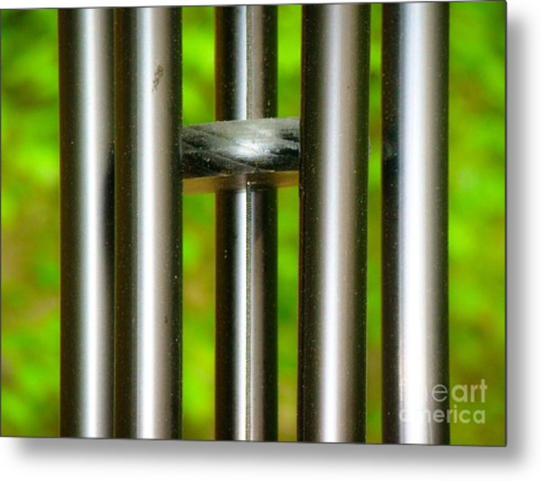 Chiming In Metal Print
