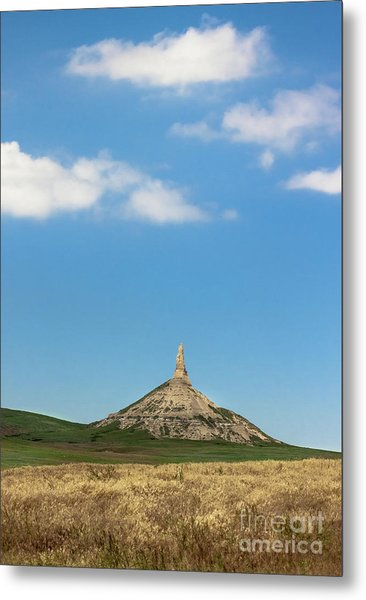 Chimney Rock Nebraska Metal Print