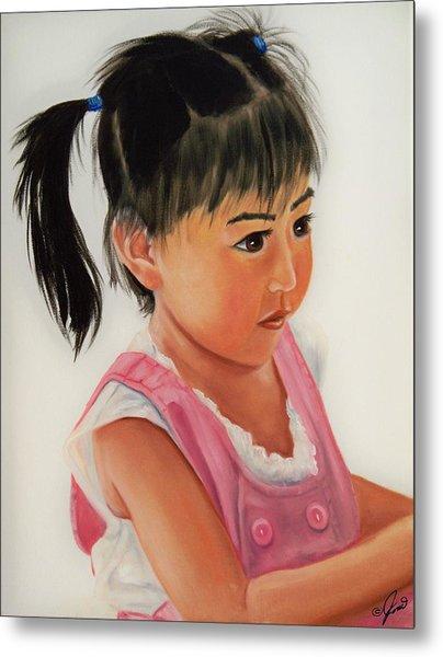 China Doll 2 Metal Print