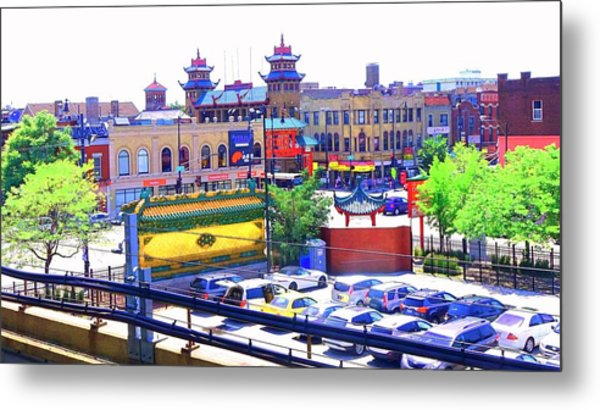 Chinatown Chicago 1 Metal Print