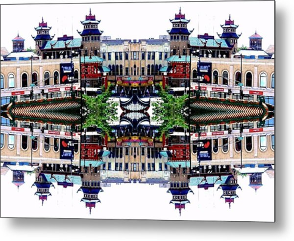 Chinatown Chicago 2 Metal Print