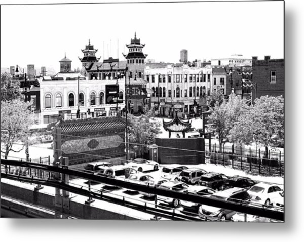 Chinatown Chicago 4 Metal Print