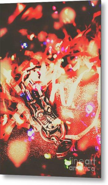 Chinese Dragon Celebration Metal Print