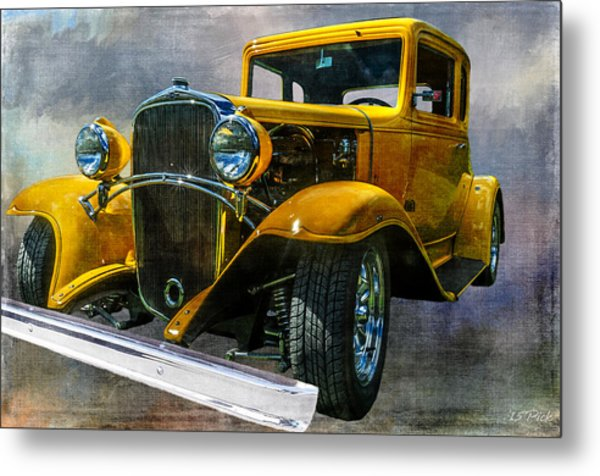Choice Chevy Metal Print by Tom Pickering of Photopicks Photography and Art