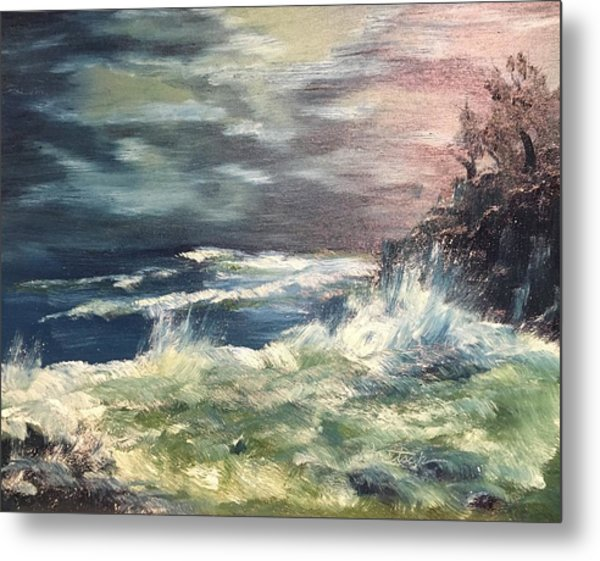Choppy Seas 1 Metal Print