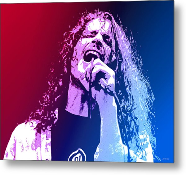Chris Cornell 326 Metal Print