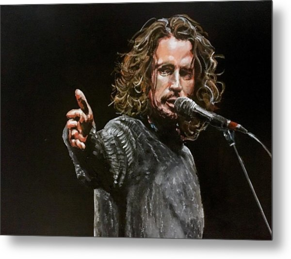 Chris Cornell Metal Print