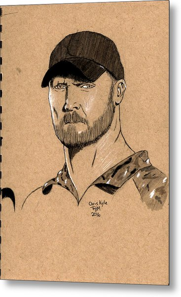 Chris Kyle Metal Print
