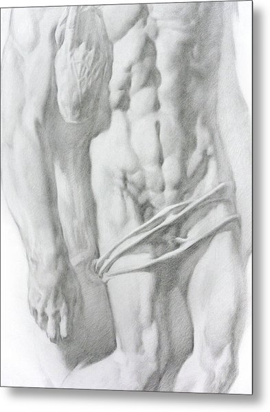 Christ 1b Metal Print by Valeriy Mavlo