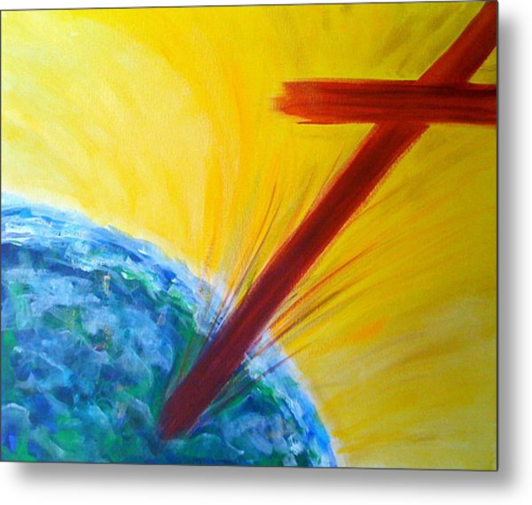Christ For The Nations Metal Print