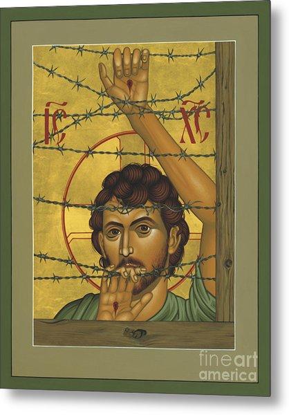 Christ Of Maryknoll - Rlcom Metal Print
