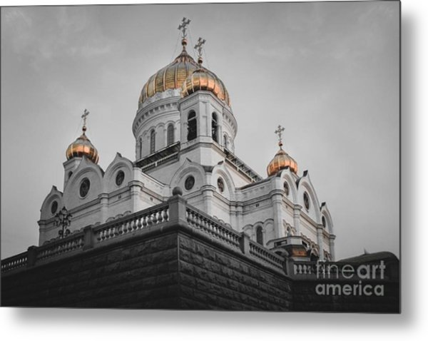 Christ The Savior Cathedral Metal Print