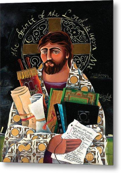 Christ The Teacher - Mmctt Metal Print
