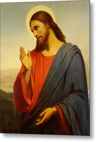 Christ Weeping Over Jerusalem Metal Print