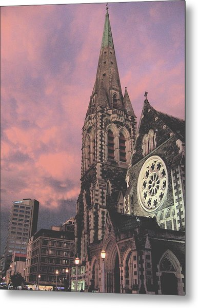 Christchurch I Metal Print