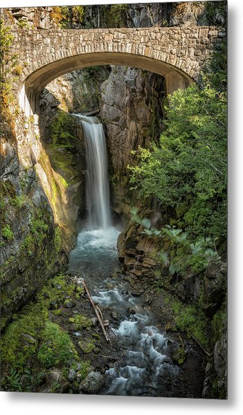 Metal Print featuring the photograph Christine Falls by Belinda Greb