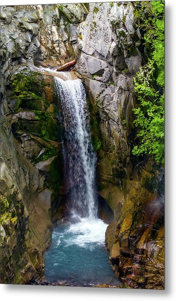 Christine Falls Mt Rainier Metal Print
