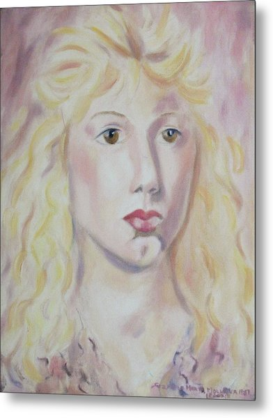 Christine Metal Print by Suzanne  Marie Leclair